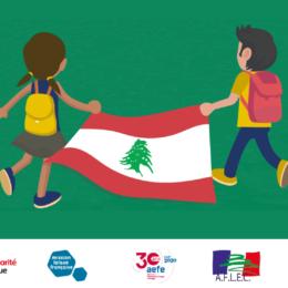 Urgence Beyrouth : des cartables pour les élèves des écoles publiques